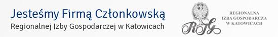 Firma Członkowska Regionalnej Izby Gospodarczej wKatowicach